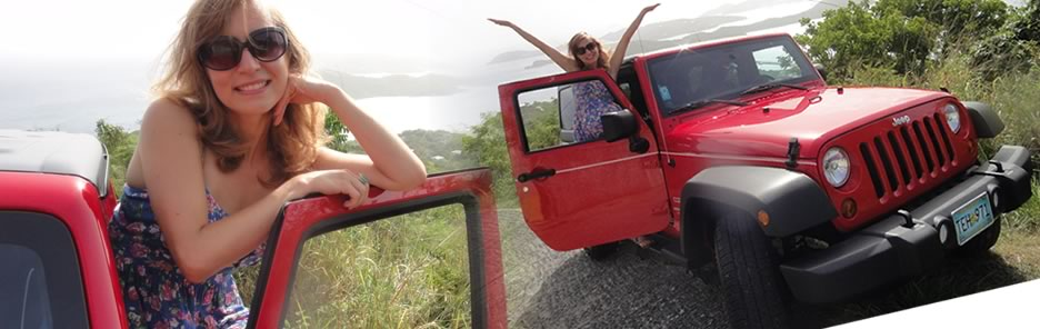 Rent a Jeep Wrangler in St. Thomas USVI