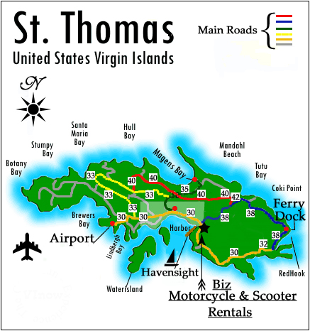 St Thomas travel - Lonely Planet