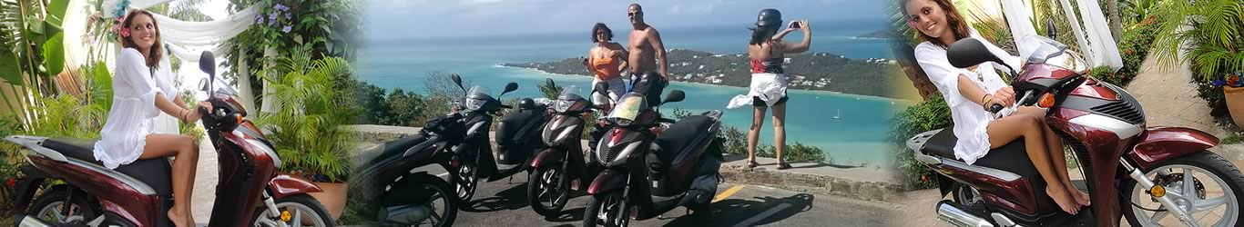 rent a scooter in Saint Thomas USVI