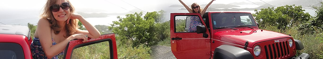 rent a Jeep in St. Thomas US Virgin Islands
