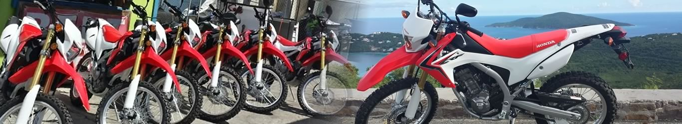 rent a motorbike in Saint Thomas US Virgin Islands